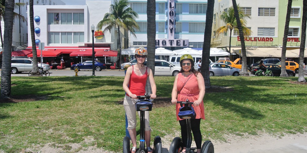 Miami Beach Art Deco District Florida