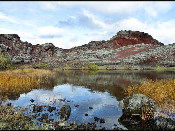 Het Raudavatn-meer - IJsland - Doets Reizen