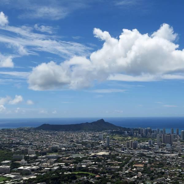 Diamond Head Oahu Honolulu Hawaii Amerika