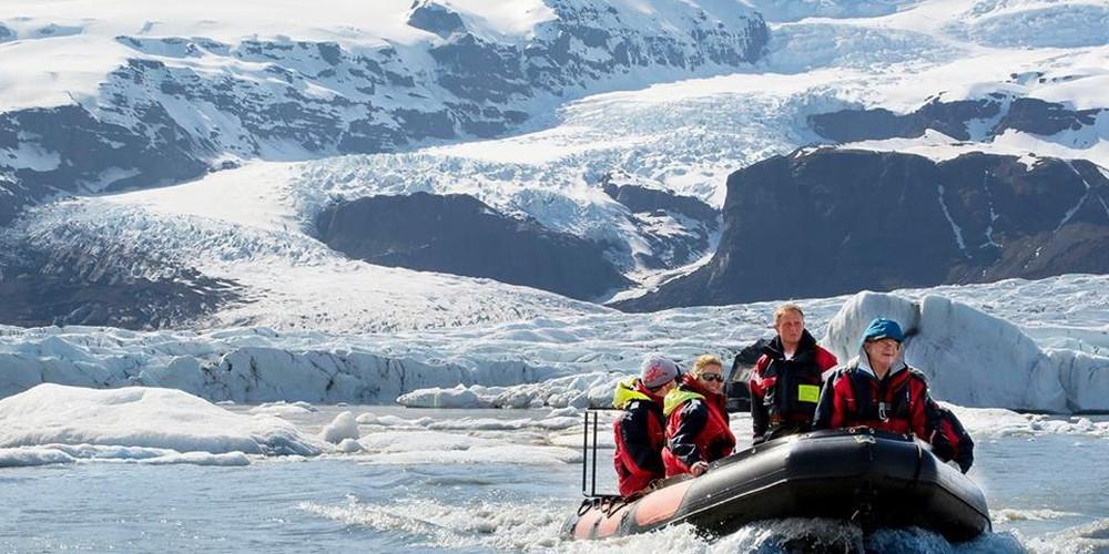Fjallsárlón Iceberg Lagoon - IJsland - Doets Reizen