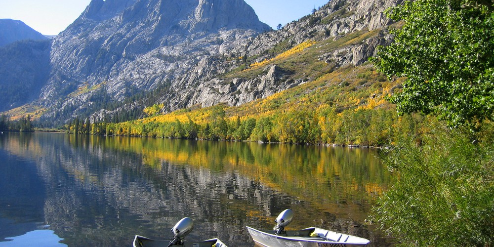 Silver Lake in Mammoth Lakes, California