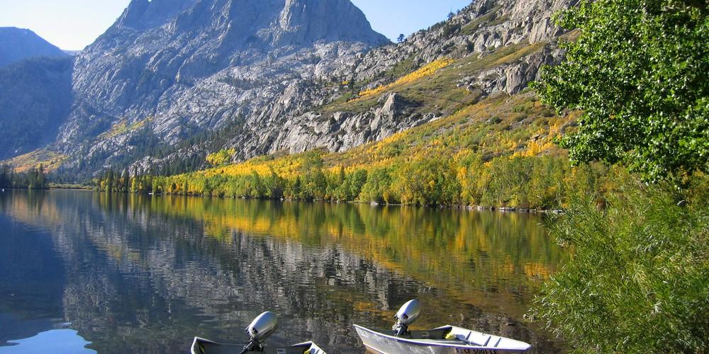 Silver Lake - Mammoth Lakes - California - Amerika - Doets Reizen