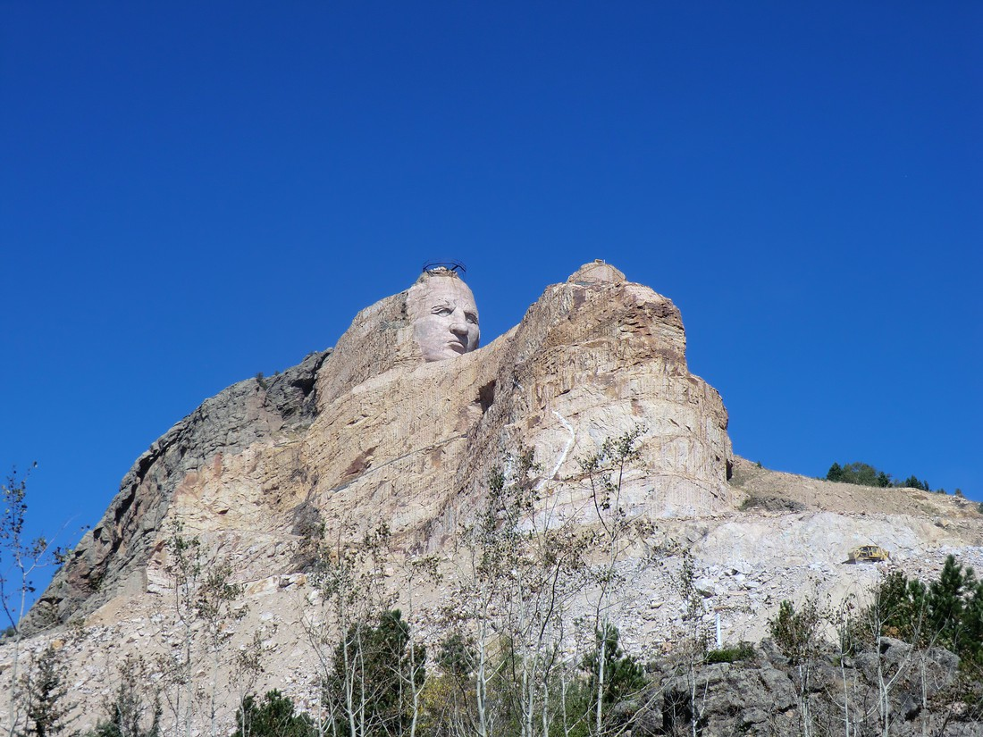 Crazy Horse Memorial in South Dakota