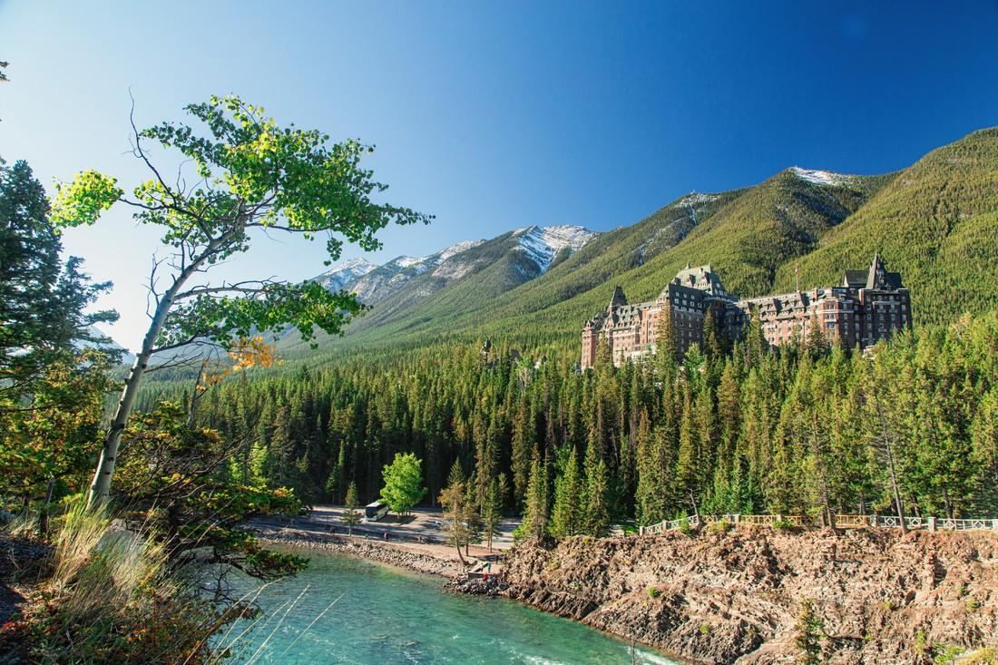 Fairmont Banff Springs Hotel - Banff Village - Alberta - Canada - Doets Reizen