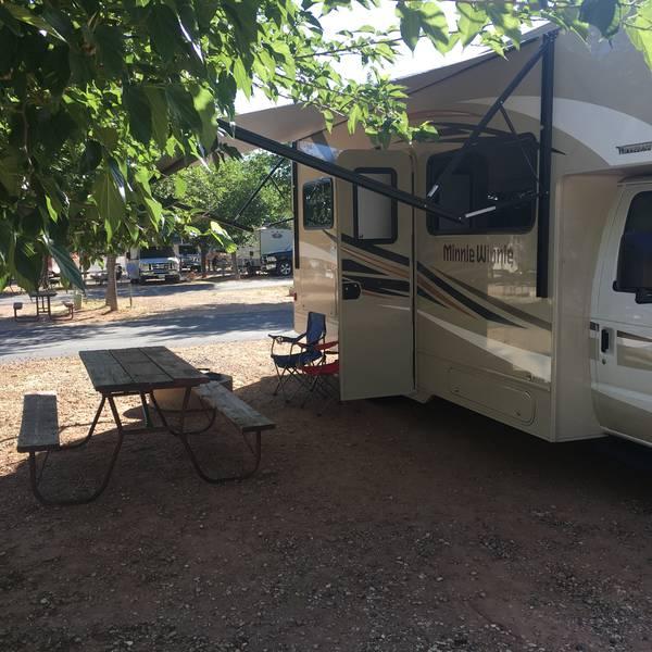 Zion Campground site