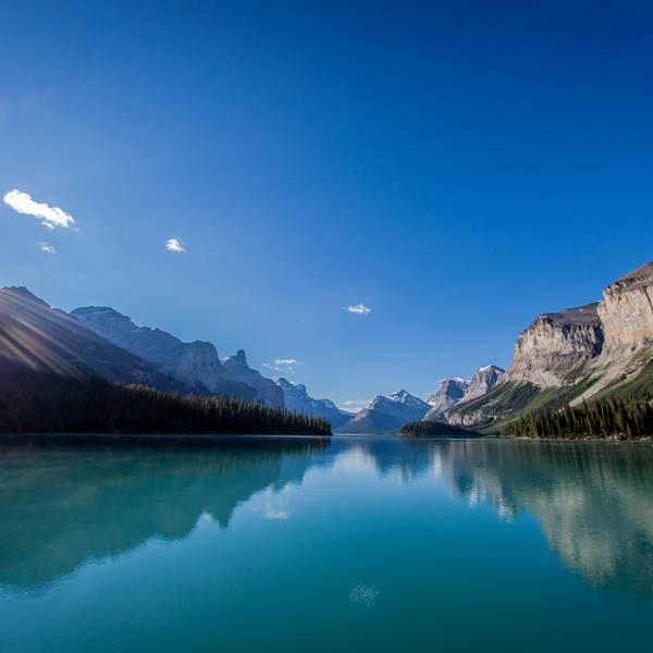 Maligne Lake - Jasper National Park - Alberta - Canada - Doets Reizen