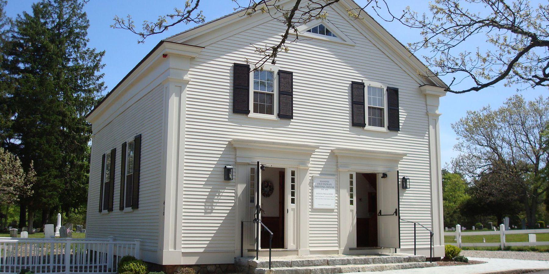 Old Indian Meeting House - Cape Cod - Massachusetts - Doets Reizen
