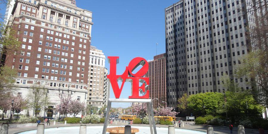 Love Park - Philadelphia - Pennsylvania - Amerika - Doets Reizen