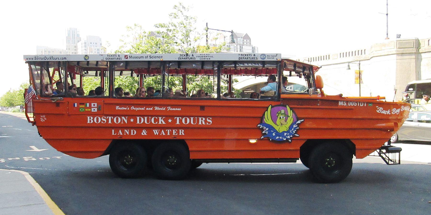 Boston Duck Tours - Boston - Massachusetts - Doets Reizen