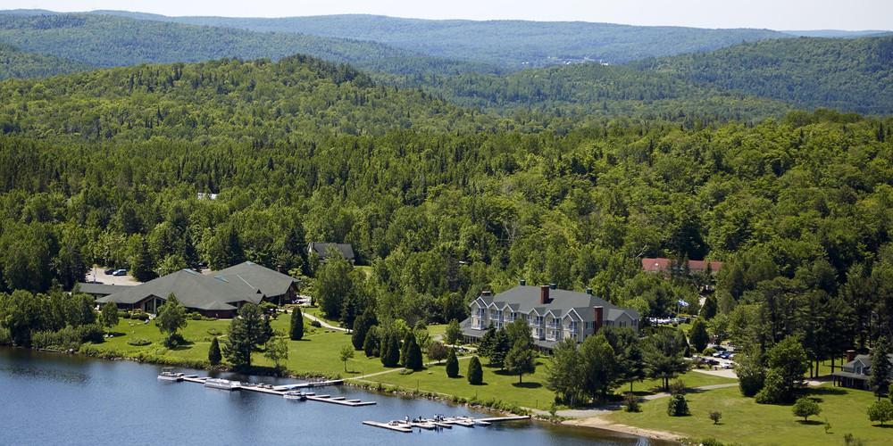 Auberge du Lac-a-l'eau Claire - Sant-Alexis-des-Monts - Quebec - Canada - Doets Reizen