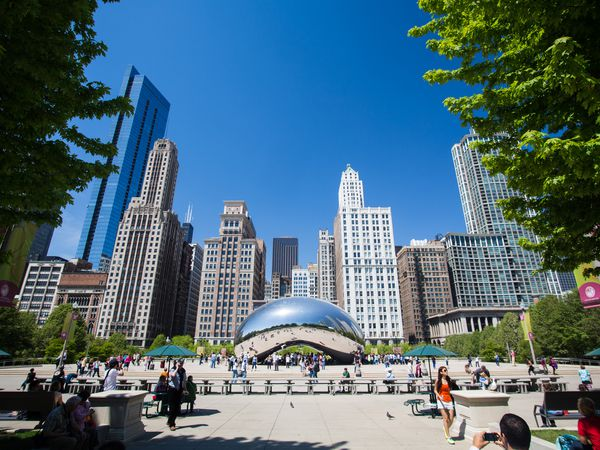 The Bean - Chicago - Illinois - Doets Reizen