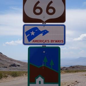Vervolg Route 66 - Oatman - Dag 22 - Foto