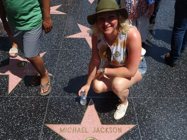 Walk of Fame - Hollywood - California - Amerika - Doets Reizen