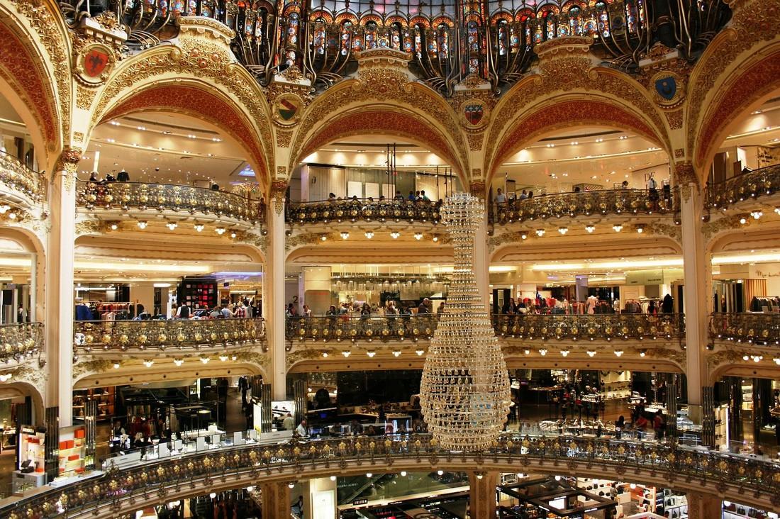 Galeries Lafayette - Parijs - Frankrijk - Vakantie Frankrijk - Doets Reizen