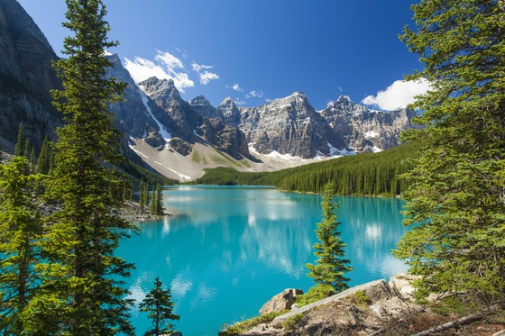 Reis door West Canada en West Amerika