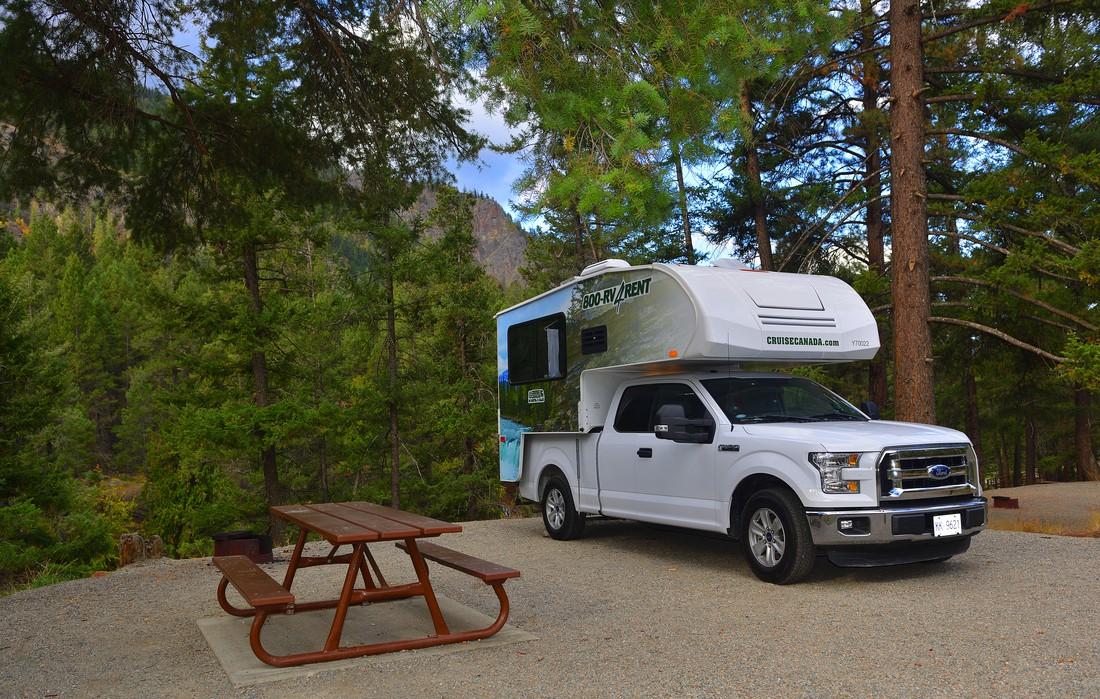 Cruise America camper op de camper