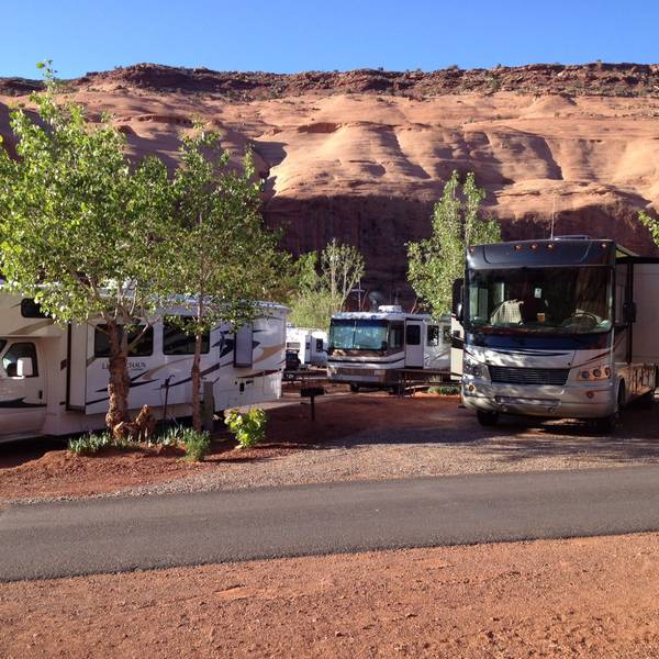 Goulding's Campground - Camperplaatsen