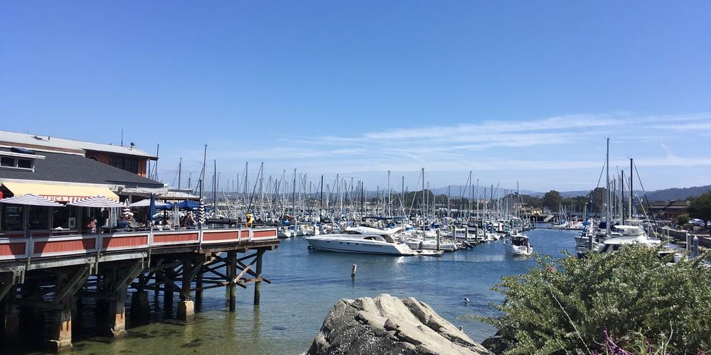 Fisherman's Wharf in Monterey, California