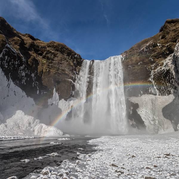 Skógafoss - IJsland - Doets Reizen