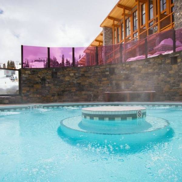Sunshine Mountain Lodge Pool Winter