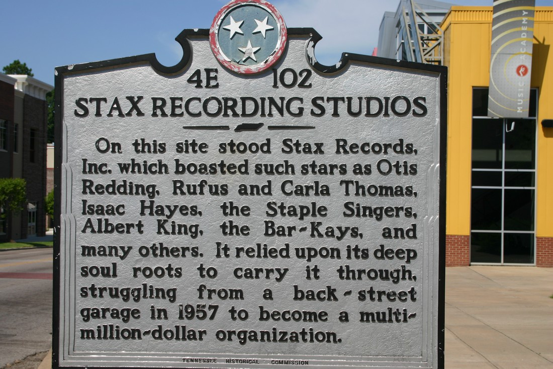Stax Museum of American Soull - Memphis - Tennessee - Amerika - Doets Reizen
