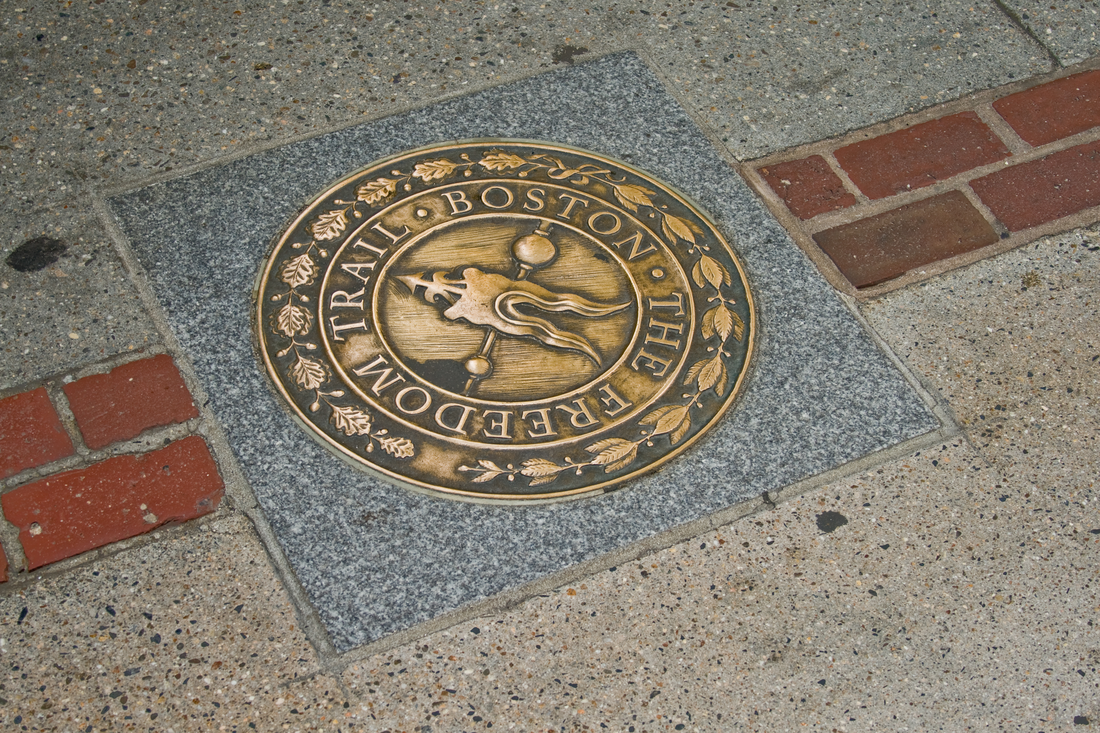 The Freedom Trail in Boston