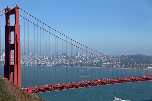 Golden Gate Bridge - San Francisco - California - Amerika - Doets Reizen