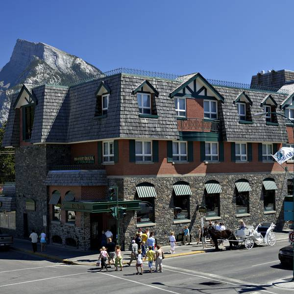 Mount Royal Hotel Banff - exterior