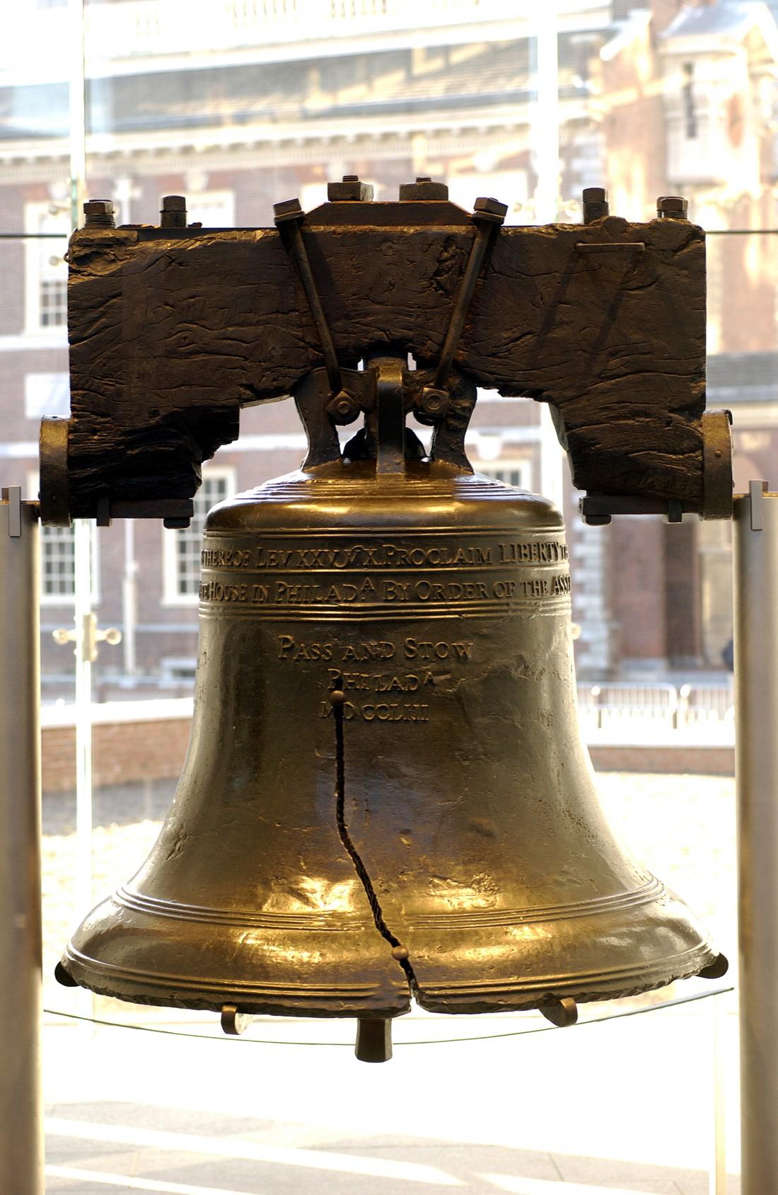 Liberty Bell - Philadelphia - Pennsylvania - Amerika - Doets Reizen