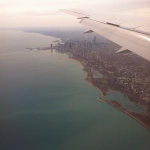 Naar Chicago - Dag 1 - Foto