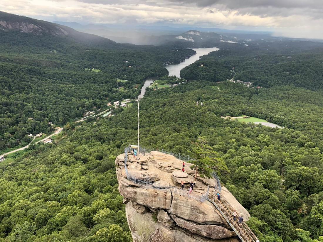 Chimney Rock State Park - Asheville - North Carolina - Amerika - Doets Reizen