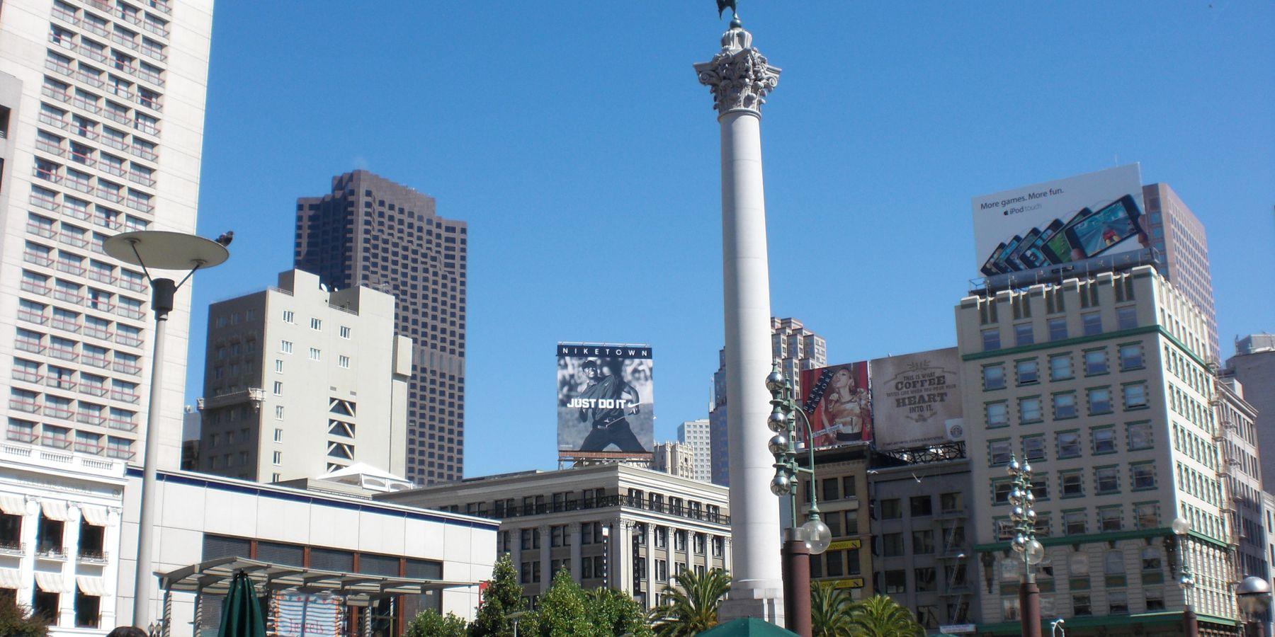 Union Square - San Francisco - California - Amerika - Doets Reizen