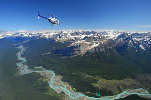 Icefields Parkway Helivlucht