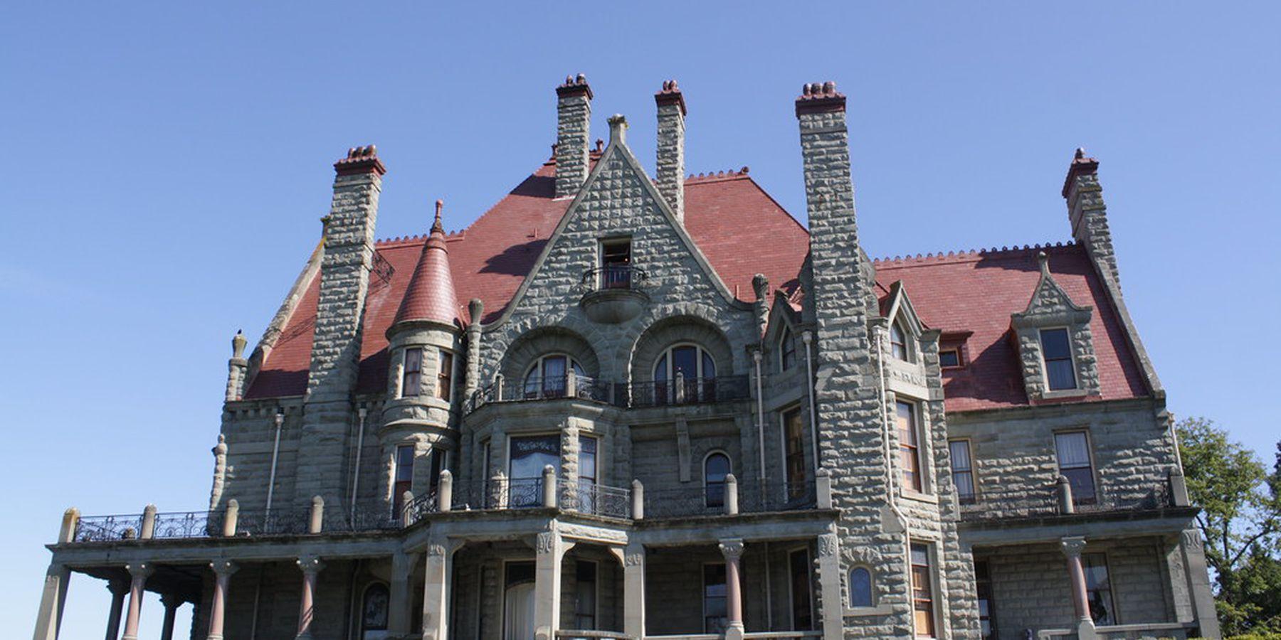 Craigdarroch Castle - Victoria - Vancouver Island - British Columbia - Canada - Doets Reizen