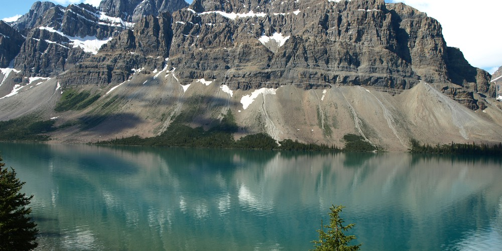 Bow Lake Banff NP Alberta