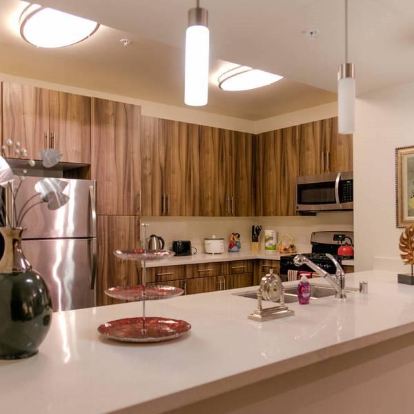Los Angeles Area Appartments - keuken