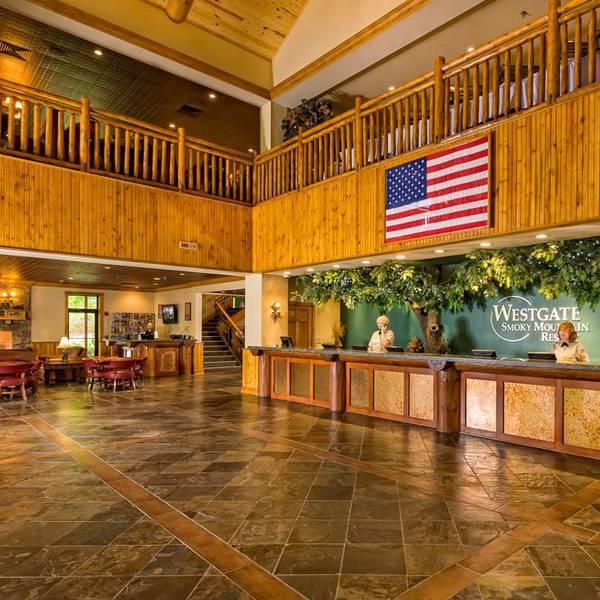 Westgate Smoky Mountain Resort - lobby