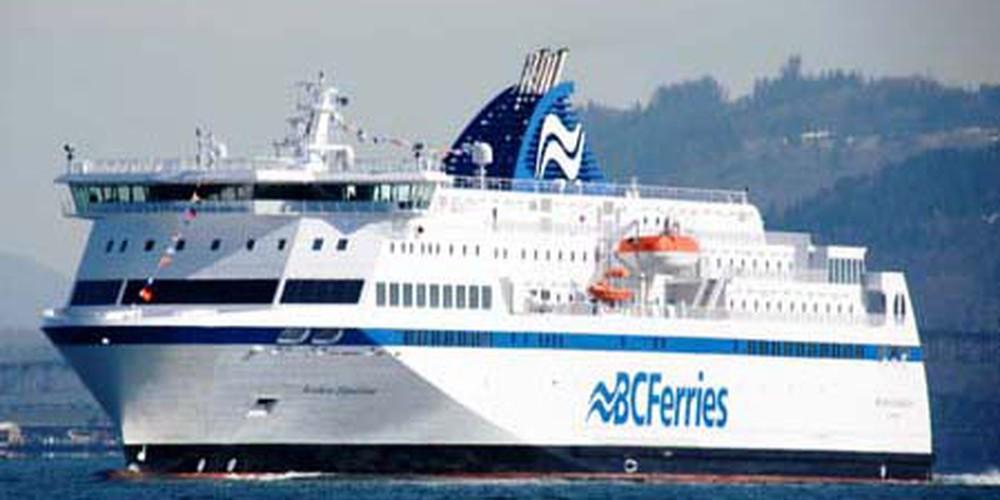 De Inside Passage BC Ferries in Canada.