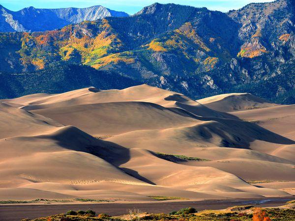 Great Sand Dunes National Park and Preserve - Colorado - Doets Reizen