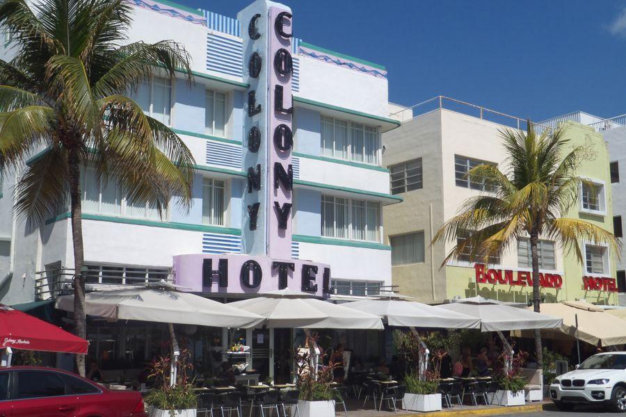 Ocean Drive - Miami - Florida - Doets Reizen