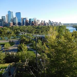 21 juli 2016: Amsterdam - Calgary - Dag 1 - Foto