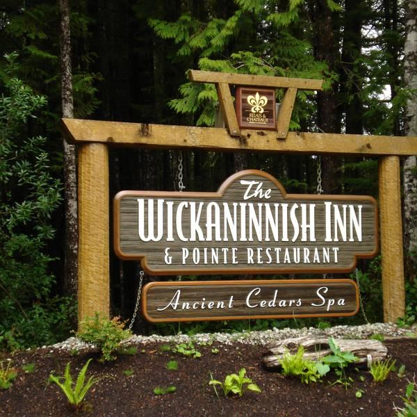 Wickaninnish Inn - ingang