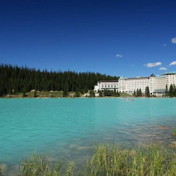 Fairmont Chateau Lake Louise - buitenkant