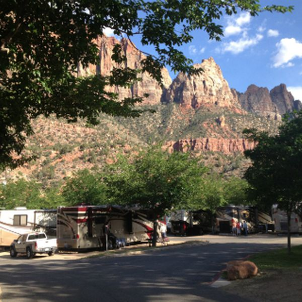 Zion Canyon Campground and RV Resort - RV sites