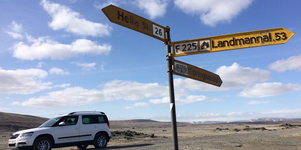 Offroad bij Hekla - Golden Circle - IJsland - Doets Reizen