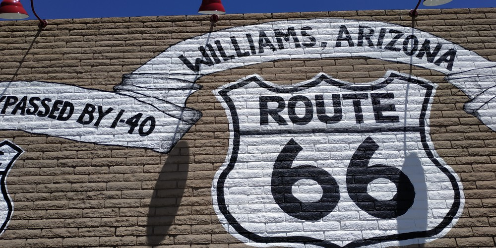 Historic Route 66 - Williams - Arizona - Doets Reizen