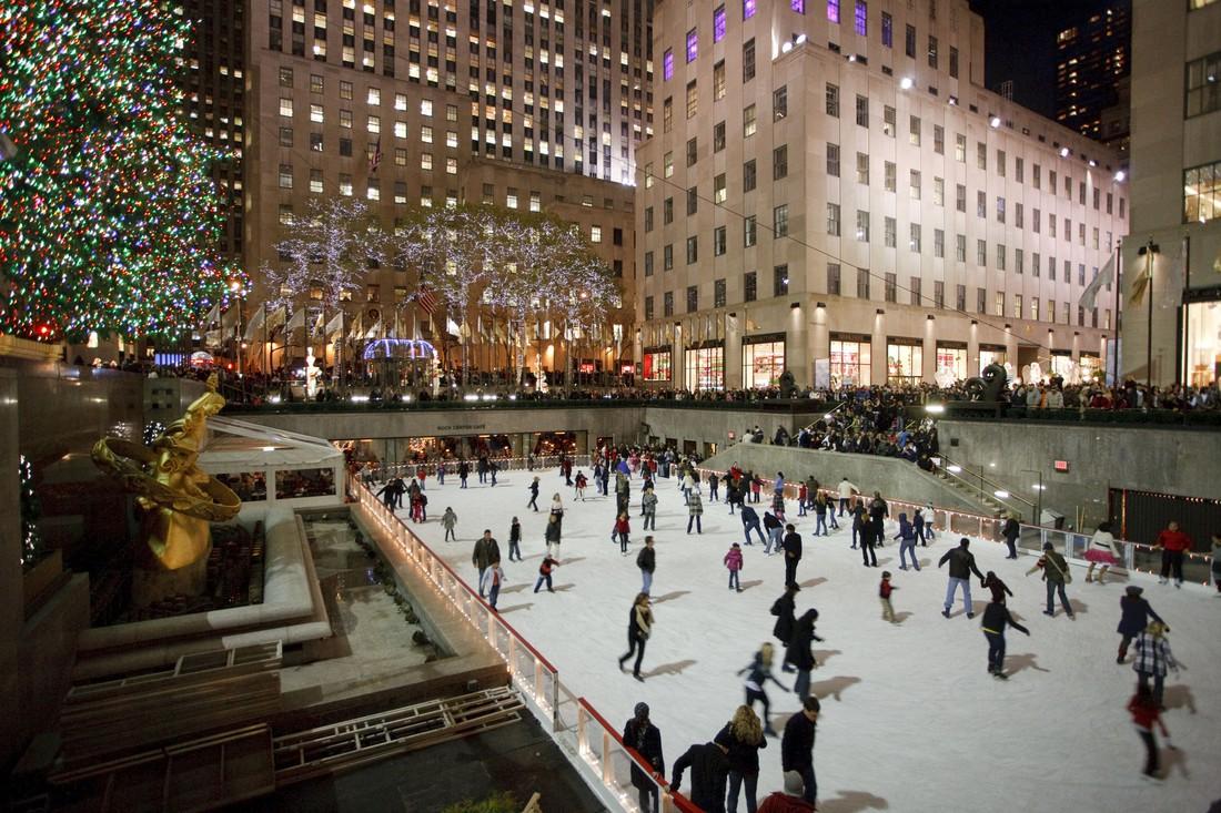 Rockefeller Plaza Rink