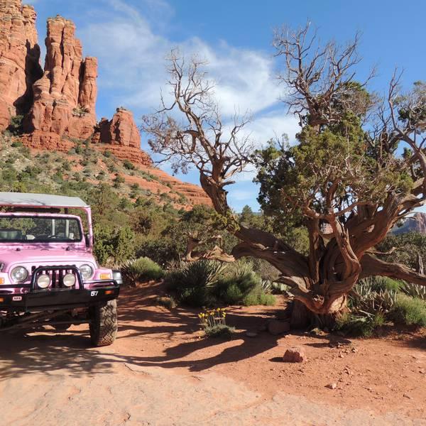 Broken Arrow Jeep Tour - Sedona - Arizona - Doets Reizen