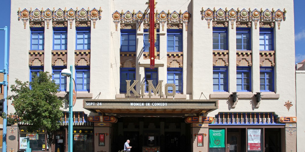 KiMo theater Albuquerque New Mexico Amerika