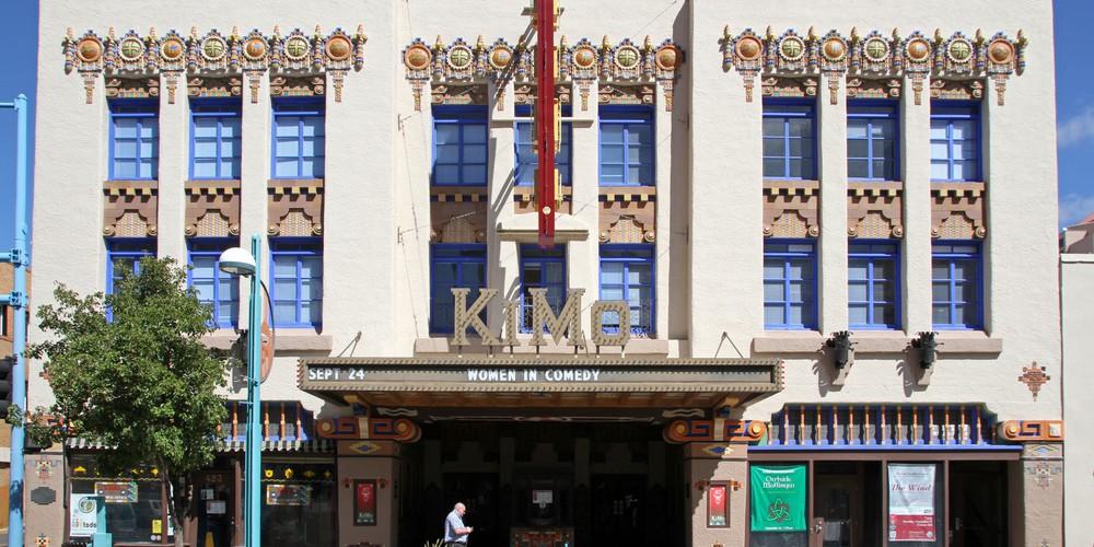KiMo theater - Albuquerque - Route 66 - New Mexico - Doets Reizen